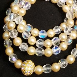 "Joan Rivers Pearl 30"" Necklace"